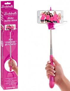 Supporto Per Selfie Bachelorette Party Favors Dicky Selfie Stick