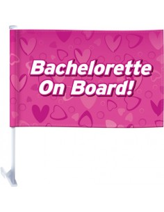 Bandierina Per Auto Bachelorette Party Favors Car Flag