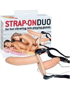 Doppio Strap On Vibrante Strap-on Duo