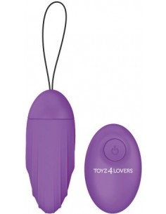 Ovetto Vibrante Elys Ripple Egg Remote Control Purple