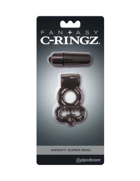 Anello Fallico Vibrante Fantasy C-ringz Infinity Super Ring