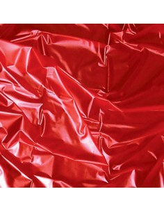 Telo Copriletto In Latex Rosso Sexmax Wetgames 180x220 Cm Red