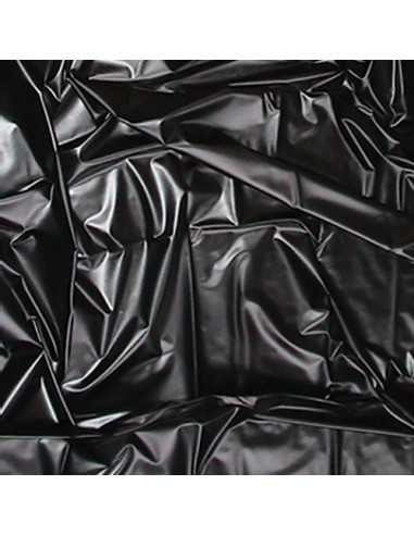Telo Copriletto In Latex Sexmax Wetgames 180x260 Cm Black