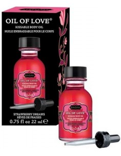 Liquido Per Massaggi Kamasutra Oil Of Love 22ml Strawberry Dreams