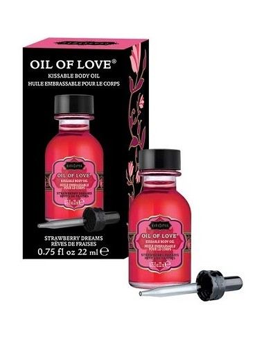 Liquido Per Massaggi Kamasutra Oil Of Love 22ml Strawberry Dreams