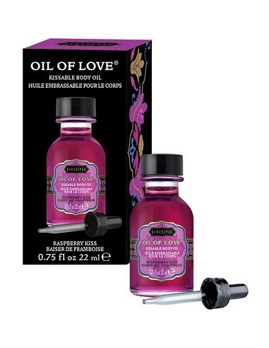 Liquido Per Massaggi Kamasutra Oil Of Love 22ml Raspberry Kiss