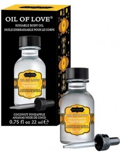 Liquido Per Massaggi Kamasutra Oil Of Love 22ml Coconut Pineapple