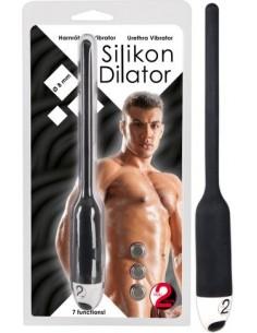 Dilatatore Uretra Silikon Black
