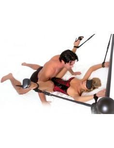 Kit Bondage Fetish Fantasy Series Rope Cuff And Tether Set