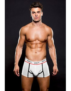 Boxer Envy Mesh Trunk White